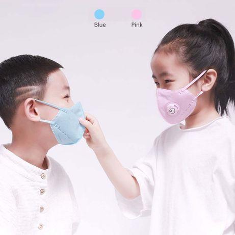 Xiaomi AirPOP Маска Защитная Респиратор Детская для Ребенка 4 - 10 лет