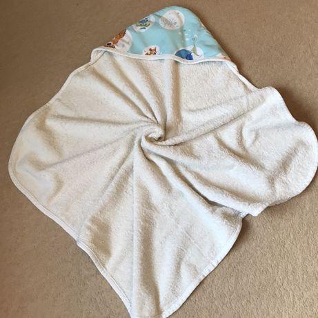 Полотенце-уголок для купания plamka