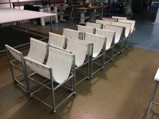 Mesa de Apoio para confecção. Maquina de costura