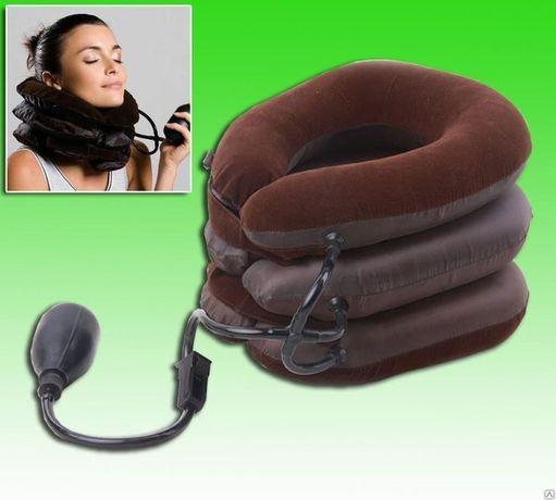 Надувной ортопедический воротник для шеи Air Pillow