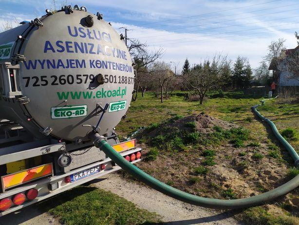 Usługi asenizacyjne wywóz nieczystości płynnych wywóz szamba Kalisz