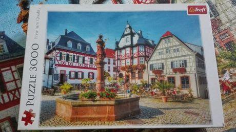 puzzle 3000 TREFL Rynek w Heppenheim Niemcy 33052