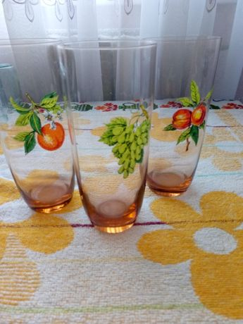 стаканы из тонкого стекла