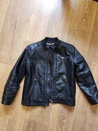 Косуха, эко кожа, HM , модная, стильная, размер 122-128