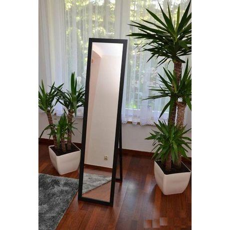 Duże lustro 4501 stojące białe czarne szare 45x180cm Transport gratis