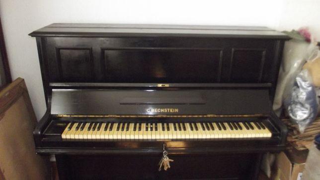 pianino Bechstein czarne niemieckie / Parter/