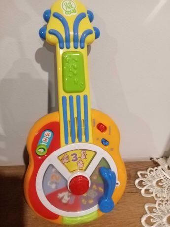 Gitara zabawka interaktywna