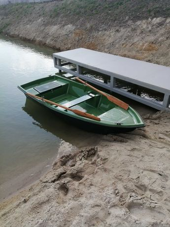 Łódka wędkarska Nowa (mozliwy trasport) 350x145 płaskodenna