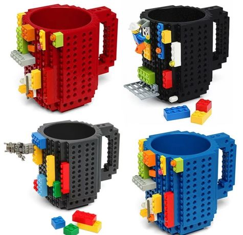 Lego кружка,в наличии малинового цвета