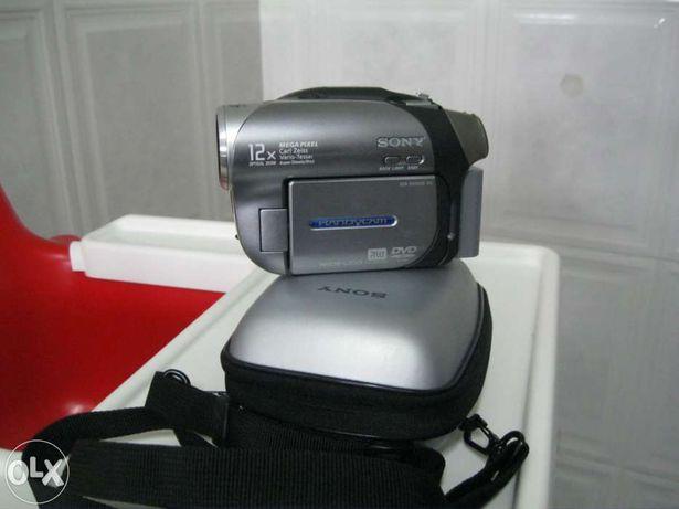 Máquina de filmar Sony DCR DVD