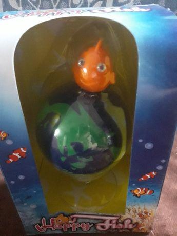 Rybka na globusie