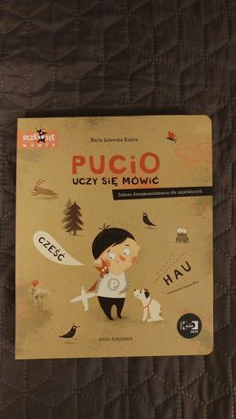 Nowa książka Pucio uczy się mówić