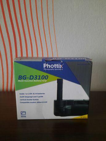 Батарейный блок Phottix BG-D3100
