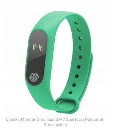 Opaska Smart band M2 sportowa  pulsometr smartwatch.
