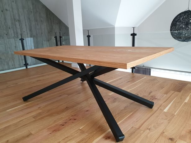 Stół do jadalni, loft, industrial, minimalizm