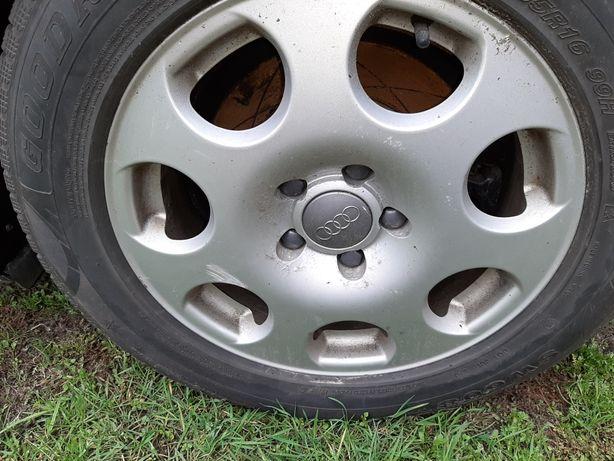 """Felgi z oponami zimą 16"""" 5*112 Audi VW"""