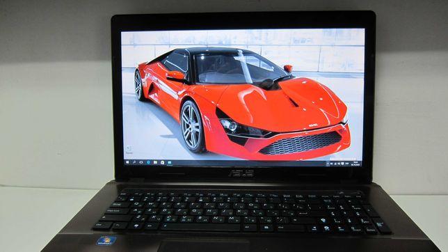"Asus K73 Экран 17.3"" Ram 8 gb Intel Core i3 Windows 10"