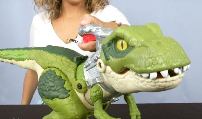 Большой динозавр Fisher Price T Rex Jurassic World