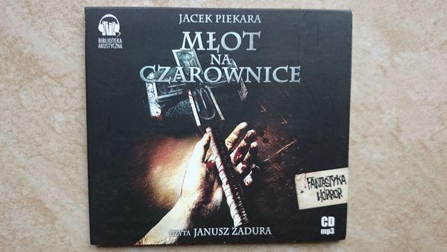 "Audiobook Jacek Piekara ""Młot na czarownice"" fantastyka"