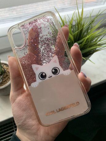 Case Karl Lagerfeld na iPhone X/XS
