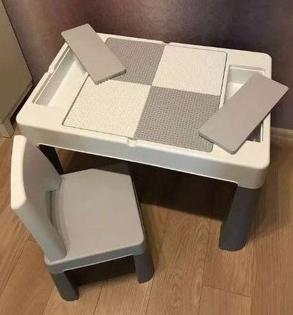 Стол и стул - набор Мультифан Multifun для детей от 1 до 7 лет, Польша
