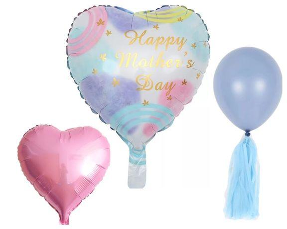 DZIEŃ MATKI Zestaw balonów na Dzień Matki prezent balon nowość