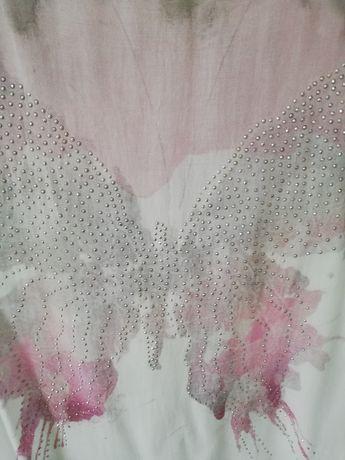 Bluzeczka z motylem