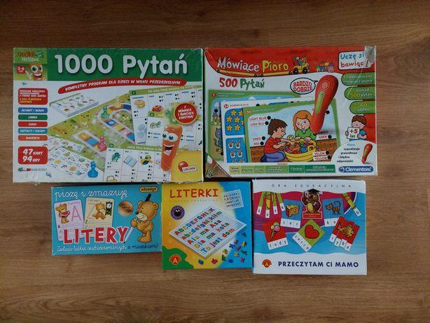 Gry i nauka liter dla dzieci