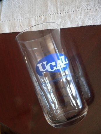 3 copos UCAL novos