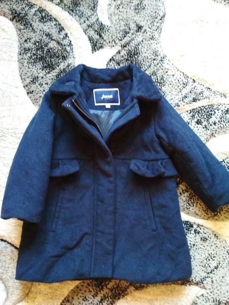 Пальто шерстяное Jacadi Next Zara, пальтишко, плащик, пальтішко Paris