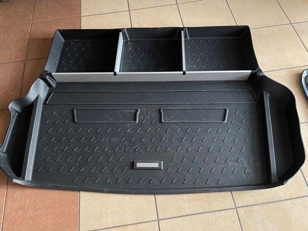 LEXUS RX450H Oryginalna mata bagaznika z organizerem i komplet dywanik