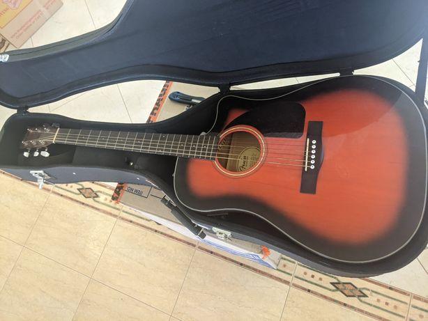 Fender CD 60CE Guitarra Eletro-Acústica + acessórios + capa rígida