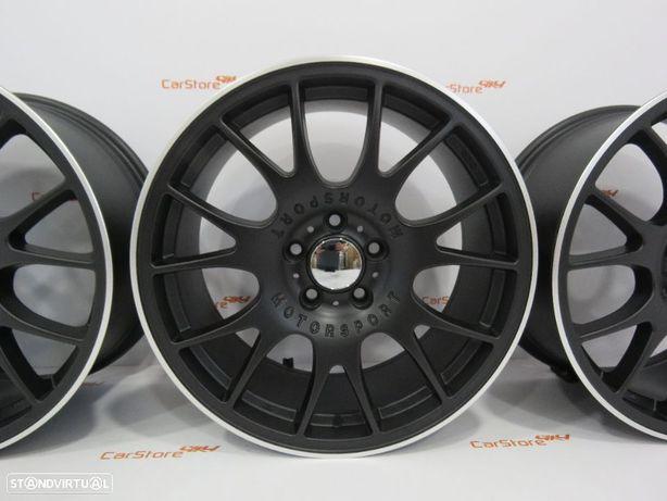 Jantes BMW Look BBS CH Pretas 18 8+9 et35 5x120