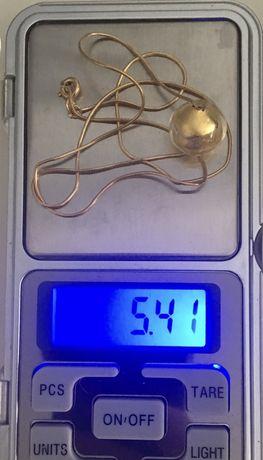 Oportunidade - fio/colar/volta em ouro amarelo de 19,2kl, 5,41