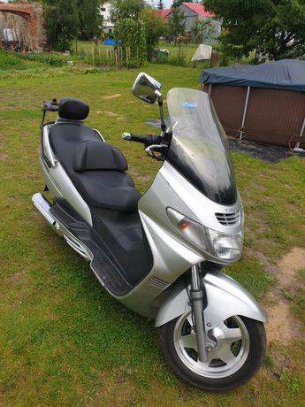 Suzuki Burgman 400 zamiana