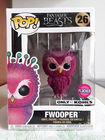 Funko POP Fantastyczne Zwierzęta Fwooper Flocked