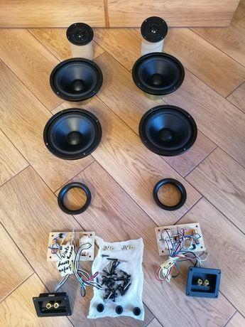 Głośniki JVC 6 sztuk  120W