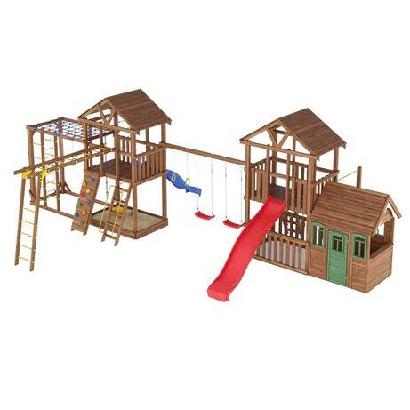 Для дома,дачи,туробъекта!Игровой комплекс Детская площадка Домик Горка
