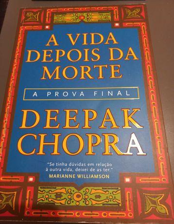 Livro Deepak Chopra - A vida depois da morte