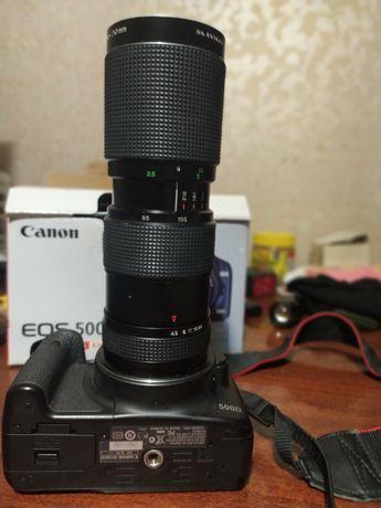 Canon 500d made in Japan + обьектив formula 5 80-200
