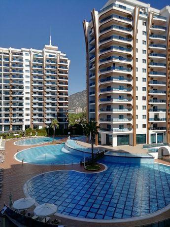 1-кімн. квартира, з виглядом на Середземне море м. Аланія, Туреччина