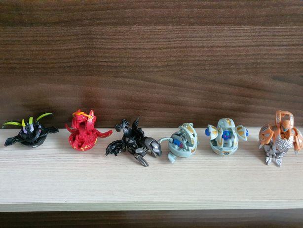 Figurka , figurki Kolekcjonerskie Bakugan Zestaw 6 Sztuk UNIKAT