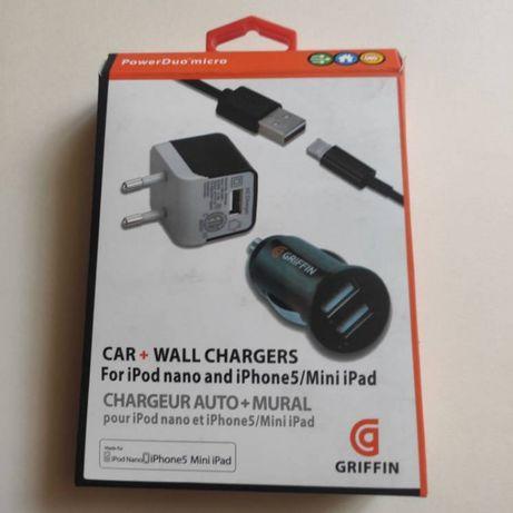 Зарядное устройство Griffin Home Car Charger Set