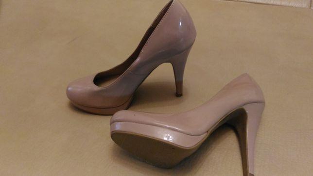 Свадебные туфли New Look пудрового, бежевого цвета, размер 36