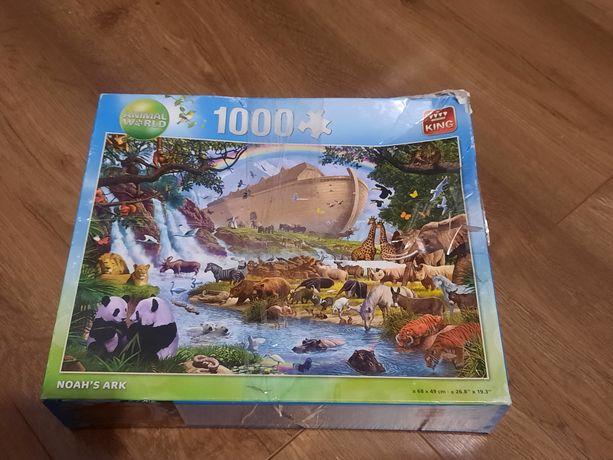 Puzzle 1000 elementów