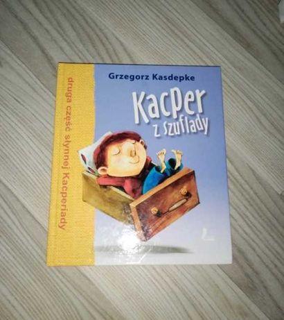 Książka dla dzieci Kacper z szuflady Grzegorz Kasdepke