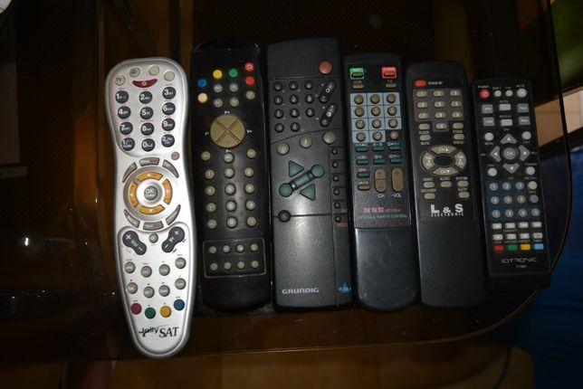 Diversos Comandos de Tv e outros aparelhos