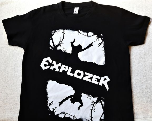 Koszulka T-Shirt Męska S sygnatura Explozer Zdrada Nieba Trójmiasto
