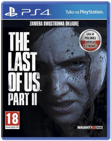 •WYSYŁKA 0 ZŁ• The Last of Us Part II 2 Gra PS4