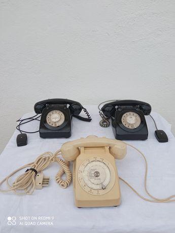 Telefones antigos de disco 3